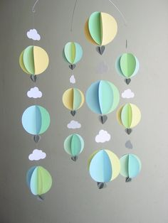 younghearts | Hot Air Balloon Baby Mobile 'The Little Prince' by Younghearts #youngheartslove
