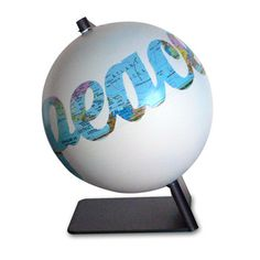 this globe sells for $315. please I could do this myself with a stencil and spray paint for like $5