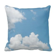 Just Clouds Pillow 2 I could see several of these great cloud pillows on a couch or a bed.