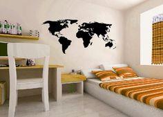 Verden! Vinyl Wall Decals, 1 Piece, Living Room, Diy, Home Decor, Decoration Home, Bricolage, Room Decor, Home Living Room