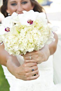 White Wedding Flowers, Bride bouquet, Travis J Photography, Colorado