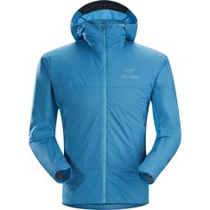 Arc'teryx - Atom SL Hooded Insulated Jacket - Men's - Adriatic Blue