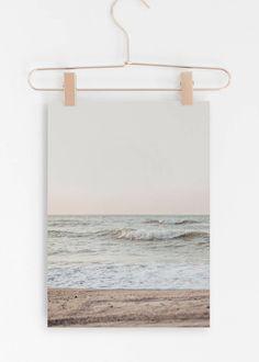 Pastel Beach Print,Modern Beach,Beach Wall Art,Prints,Large Beach Poster,Beach Art Print,Art Prints,Beach Decor,Beaige Beach,Large Beach Art