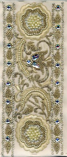 indian embroidery - detail