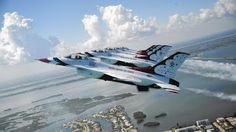 United States Air Force Thunderbirds Schedule - USAF Air Demonstration Squadron: The Fort Lauderdale Air Show is back, and so are t...