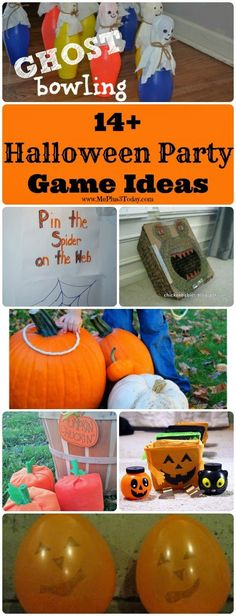 14+ Halloween Party Game Ideas - www.MePlus3Today.com