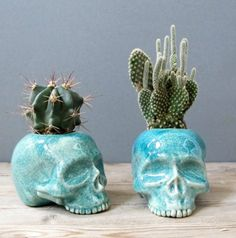 Skull Décor-- Not Just for Halloween Anymore, Crafturday Blog
