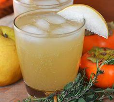 Drink Recipe:  Asian Pear Sparkler