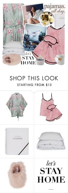 """""""I just wanna lay in my bed!* Top set !*"""" by euafyl ❤ liked on Polyvore featuring Meng, DKNY, By Nord, Steve Madden, WALL, le mouton noir & co. and Disney"""