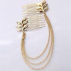 Nova cadeia cabeça pentes de cabelo pinos acessórios de cabelo jóias para mulheres casamento chinês acessórios para o cabelo pin pente acessórios de joalharia