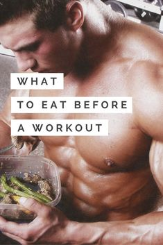 What should you be eating before each workout?