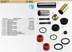 Continual Brake Caliper Repair Kits For Truck Bus and Van: BPW TYPE Caliper Repair Kits For Truck Trailer Bus...