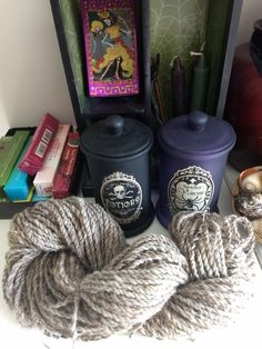 A happy day in my craftroom, spinning up Coopworth, silk and sparkle!