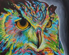 paintings of owls | Owl painting by Harvin Alert