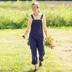 Womens Heirloom Gardening Overalls Themework Teamwork