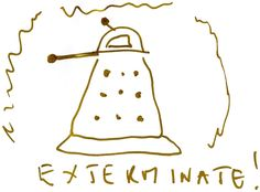 National Doodle Day 2011 doodle by Christopher Eccleston