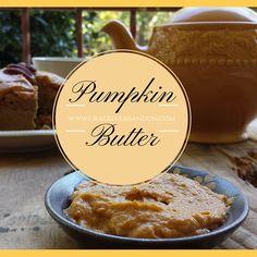 Simple Pumpkin Butter