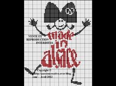 --- Alsace alsaziano-made-in-Alsace. Alsace, Modele Pixel, Pixel Art, Cross Stitch, Embroidery, Isabelle, Images, Passion, Olinda