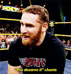 Sami Zayn | you deserve IT! Chats coming from the crowd to sami Zayn after you beat Neville for the NXT Champion ship