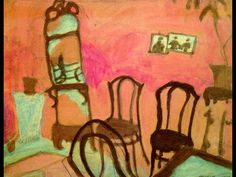 Small Drawing Room, 1908 - Marc Chagall - WikiPaintings.org