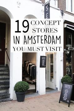 """Want to check out some unique stores while shopping in Amsterdam? On travel blog http://www.yourlittleblackbook.me there's a list of the nicest concept stores here in Amsterdam. Planning a trip to Amsterdam? Check http://www.yourlittleblackbook.me/ & download """"The Amsterdam City Guide app"""" for Android & iOs with over 550 hotspots: https://itunes.apple.com/us/app/amsterdam-cityguide-yourlbb/id1066913884?mt=8 or https://play.google.com/store/apps/details?id=com.app.r3914JB"""