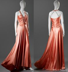 Customized Coral Crystal Beaded Keyhole Prom Evening Dresses 2017 Halter Ruched Open Back A Line Floor Length Silk Satin Sleeveless Gown 103 Black Evening Dress Cheap Evening Dresses Uk From Bestdavid, $110.56| Dhgate.Com