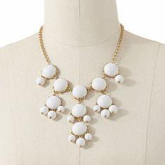 Apt. 9 Bead and Cabochon Bib Bubble Necklace - Kohls - $15.99