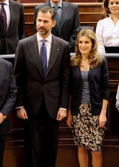 Princess Letizia - Spanish Royals Attend Lunch at the Congress