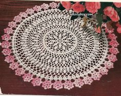 Latest Free of Charge Crochet Doilies for beginners Ideas vintage crochet doily patterns free Free Crochet Doily Patterns for Beginners Easy Crochet Doily Pa Crochet Puff Flower, Bag Crochet, Crochet Dollies, Crochet Flower Patterns, Thread Crochet, Crochet Crafts, Crochet Flowers, Crochet Projects, Pattern Flower