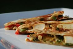 Chili Paneer Quesadilla...absolutely delicious!!!