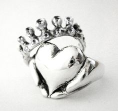 Claddagh Stacking Rings - New - Sterling Silver - Engagement Ring and Wedding Band - Rickson Jewellery