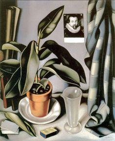 TAMARA DE LEMPICKA  Succulent and Flask