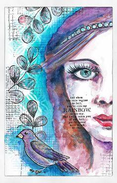 Mini'mum: My Art Journal & me {by} Pinklola