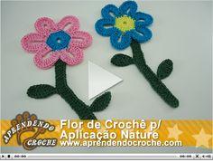 aplicação de crochê para blusa - Pesquisa Google