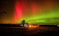 In pictures: Milky Way in the north of Scotland photobombed by the Aurora Borealis - Daily Record