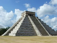 Chichen Itza, built by the Mayan's is one of the largest archeological cities of Mexico.