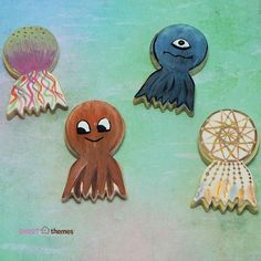 Dreamcatcher / Jellyfish / Octopus Cookie Cutter