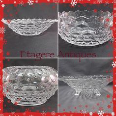 Vintage Fostoria Glass