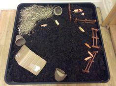 Dragonflies Classroom 'Farm' small world area
