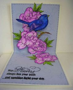 Stampendous Bird and Blossom Stamps and Dies