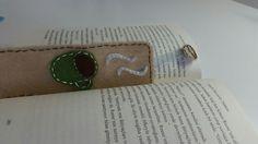 #bookmark #coffee #felt #green #brown