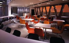 We are a global and creative design studio in Geneva, Tokyo and Beijing. Orange Chairs, Wine Display, Osaka Japan, High Chairs, Marble Floor, Square Tables, Japanese Food, Wall Tiles, Glass Door