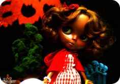 Blythe as Little Red Riding Hood #blythe