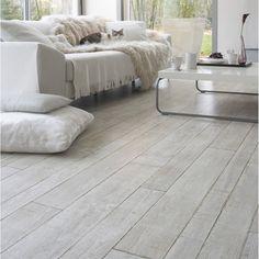Sol vinyle Texline playa white, 4 m-Leroy-14,90 € le m2