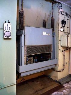 The climate control system, like most of the other machinery, was attached to...