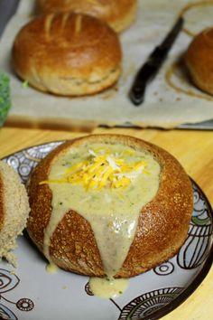 Whole Wheat Bread Bowls