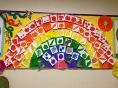 Arcobaleno di frutta e verdura Spring Theme, Very Hungry, Paper, Oxford, School, Colouring In, Spring, Art, Oxfords