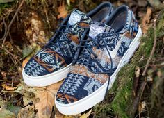 Nike SB Zoom Stefan Janoski iD Pendleton Option | KicksOnFire.com