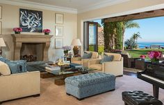 The formal living room arguably has the best views in the house.  Source: Chris Cortazzo