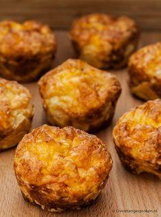 Quiche Muffins, Savory Muffins, Best Quiche Recipes, Quiche Lorraine Recipe, High Tea, Muffin Tin Recipes, Snacks, Brunch Buffet, Tapas